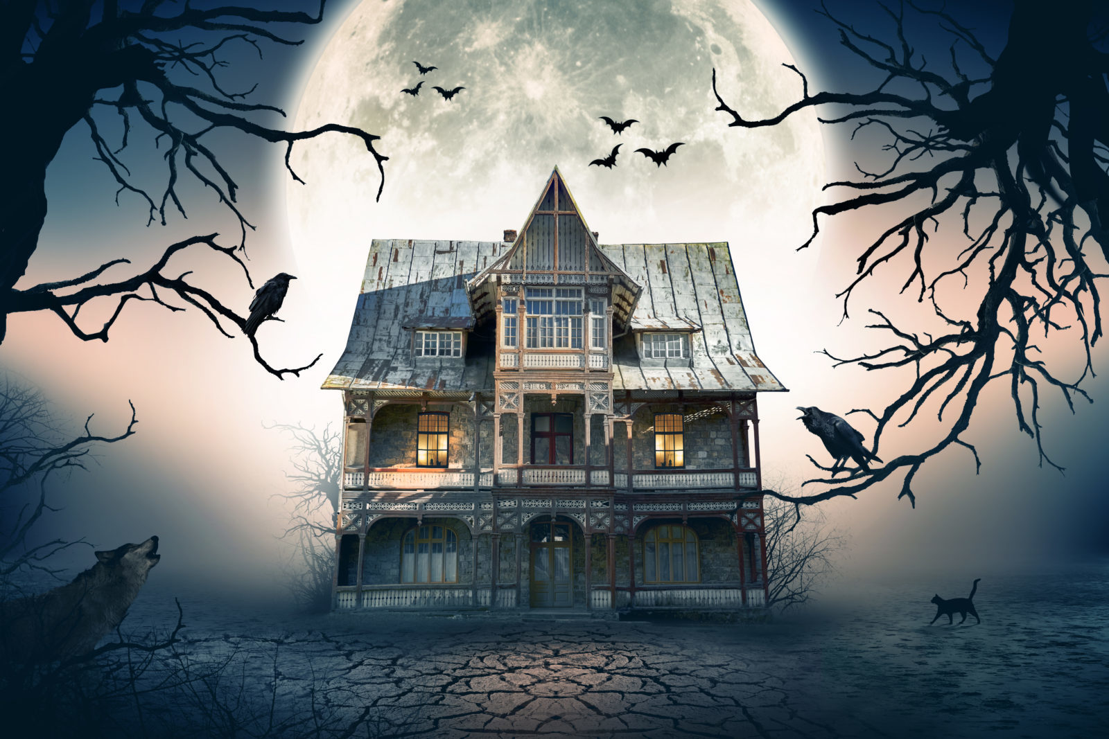 Oakland Haunted House Quiz
